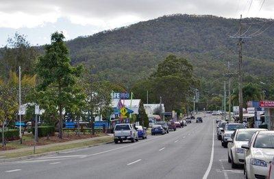Canungra main street