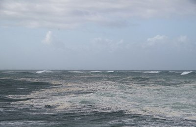 Wild seas at the entrance to the Gold Coast Seaway