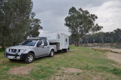 Our camp site at Quicks Beach