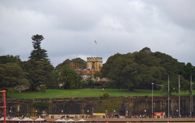 Government House from Circular Quay