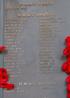 Crew of HMAS Armidale including Teddy Sheean