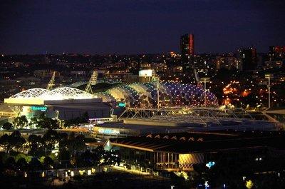 Rod Laver Arena and AAMI Stadium