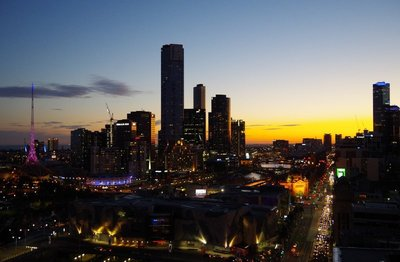 Another sunset in Melbourne