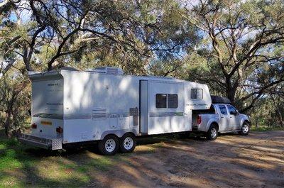Camped at Billabong Creek