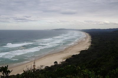 Looking south from Cape Byron