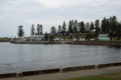 Small marina at Kiama