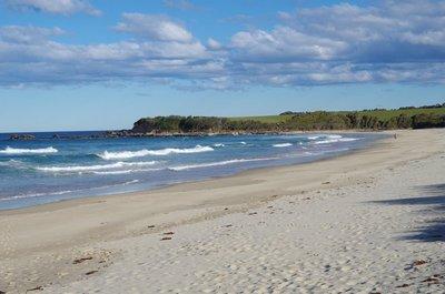 Looking south on Handkerchief Beach