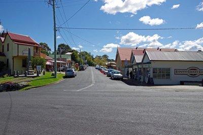Central Tilba main street