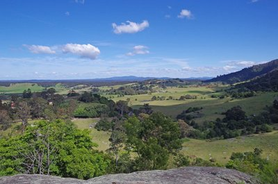 View from the Central Tilba Look Out.