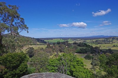 Another view from the Central Tilba Look Out.
