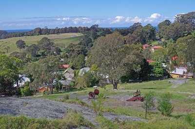Central Tilba from the Look Out