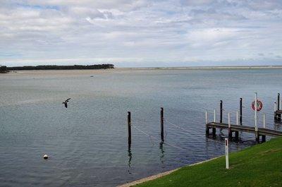 View across Mallacoota Inlet.