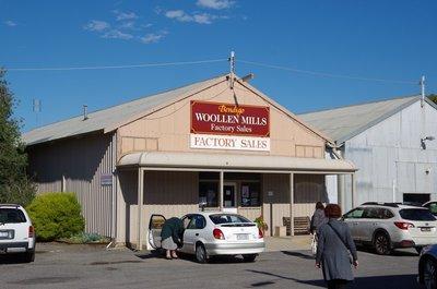 Bendigo Woolen Mill Factory Outlet.