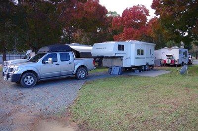 Site 3 at the Hay Big 4 Caravan Park.