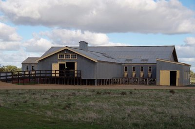 Murray Downs Shearing Shed built 1925 and moved to the Hall of Fame in 1998.