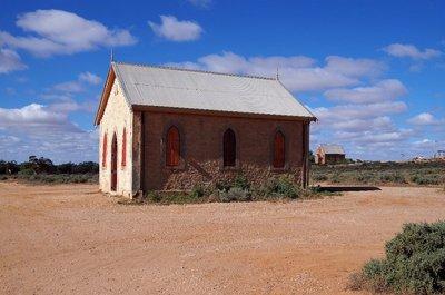 Silverton Methodist Church built 1885.