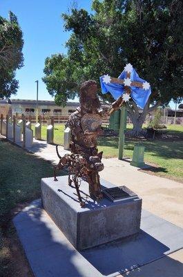 Shearer's Strike Memorial.