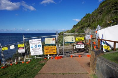 I think that the Burleigh track might be closed.