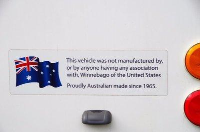 Avida vans are not Winnebagos.