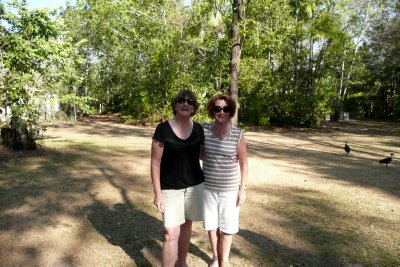 Margaret and Di at Berry Springs