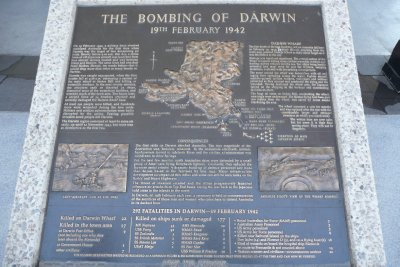 The Bombing of Darwin Memorial
