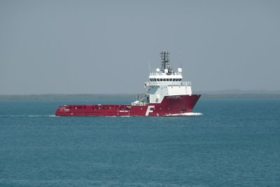 Work boat on Darwin Harbour