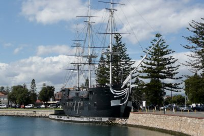HMS Buffalo replica of ship that brought free settlers to Adelaide in 1836
