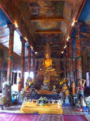 And the collection of Buddha statues that people come to pray to