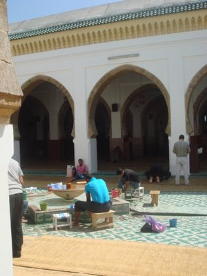 Communal bath at the mosque
