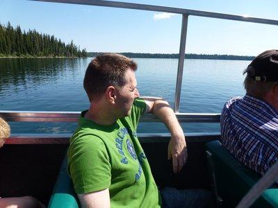 Boot Jenny Lake