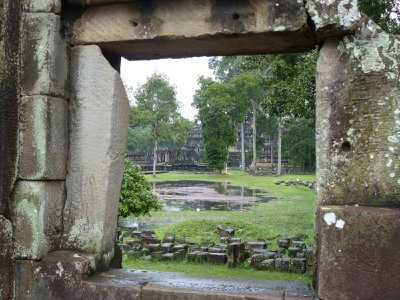 Temple in Angkor Thom complex