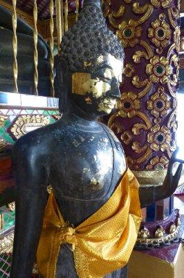 Gold leaf Bhudda