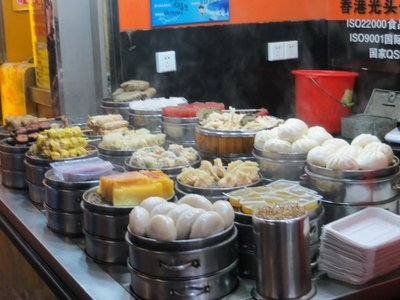 Dumplings, wontons etc - Wuhan Street Food