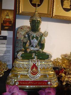 Jade Buddha at the Buddhist Temple