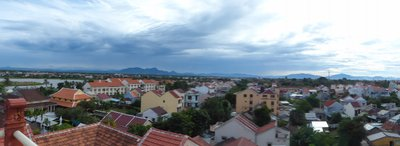View from above Hoi An