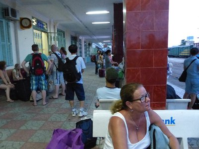 Waiting for the train Nha Trang