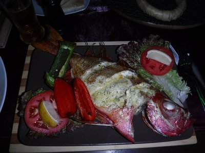 Fresh Grilled Red Snapper