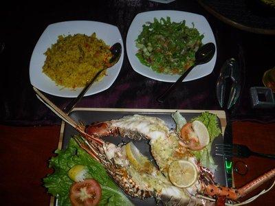 Sri Lankan Lobster Dinner