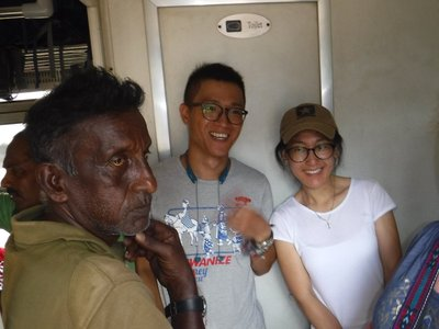 Iman and our new Chinese friends