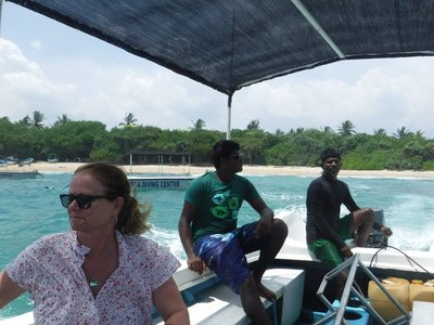 Brenda and our snorkeling staff