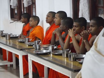 Young monks at the monastery