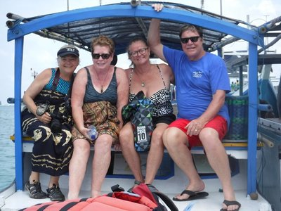 Linda, Patty, Brenda and Jim