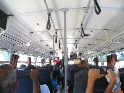 Our bus to Anuradhapura