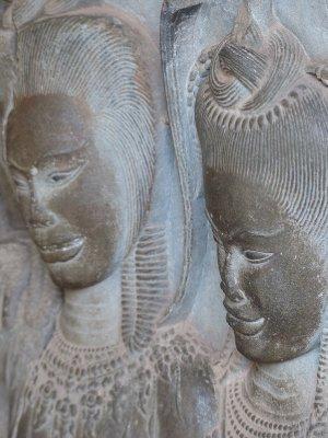 Apsara Carvings at Angkor Wat