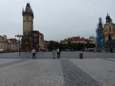 Early Morning Prague Old Town Square