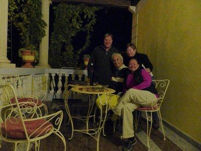 With our host Giorgio