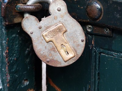 Cell door lock