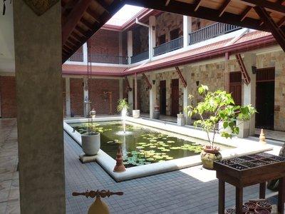 Courtyard at Jasmin Spa