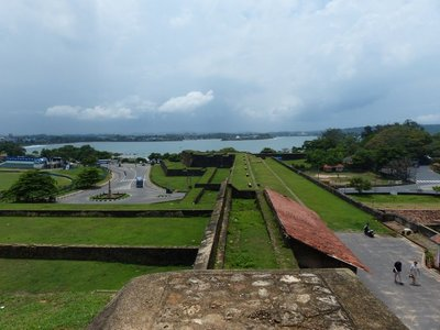 Outer areas of the Dutch Fort