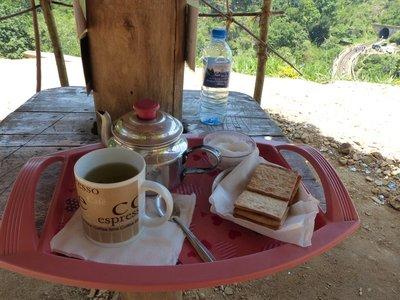 A spot of tea above the tracks